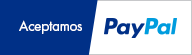 Aceptamos pago mediante PayPal