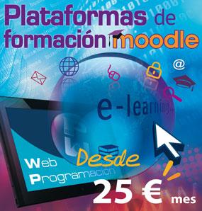 Alojamiento de Moodle en alquiler desde 25 € / mes