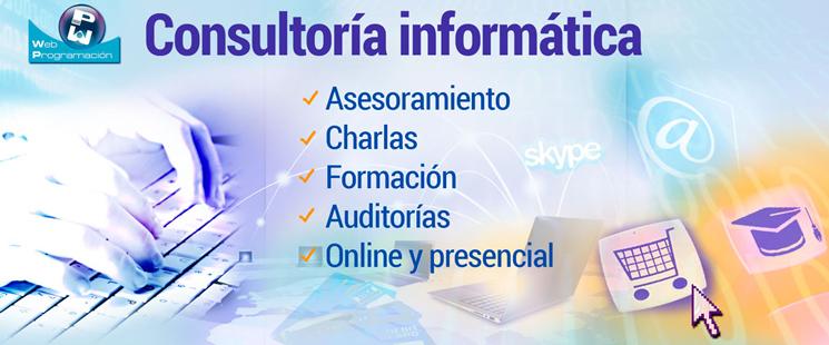 Consultoría en informática y tecnología online