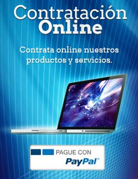 Contrata online nuestros productos y servicios de consultoría informática y desarrollo